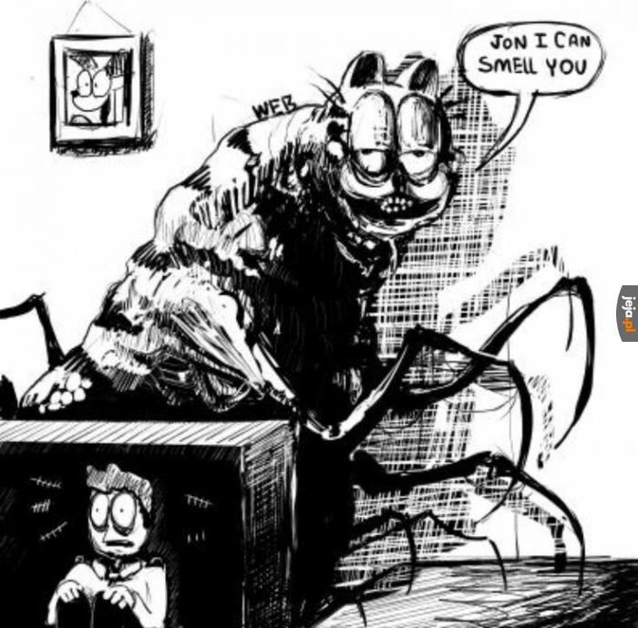 Garfield w wydaniu halloweenowym