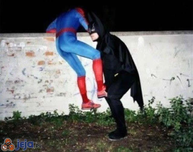 Spiderman i Batman na emeryturze