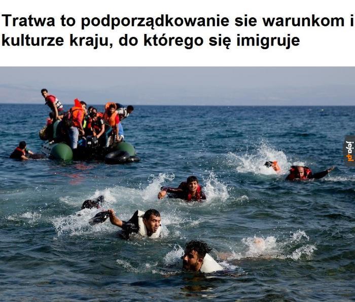 Szybko, do wody!