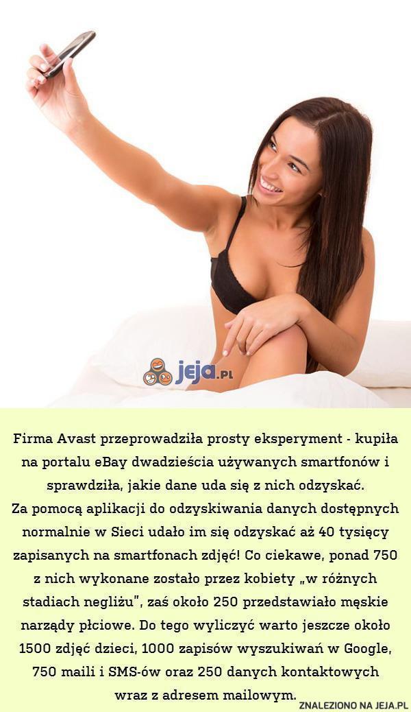 Eksperyment firmy Avast...