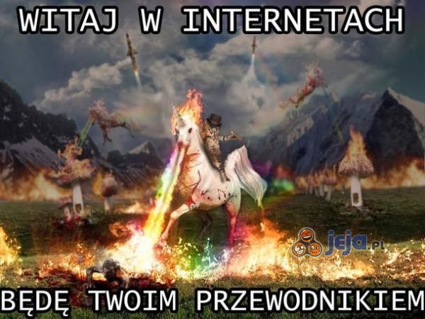 Witaj w Internetach