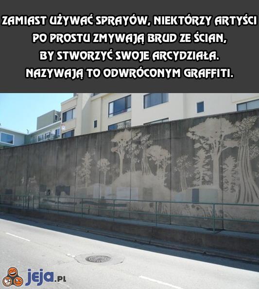 Odwrócone graffiti