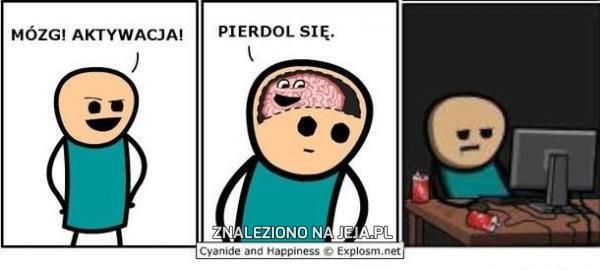 Aktywacja mózgu!