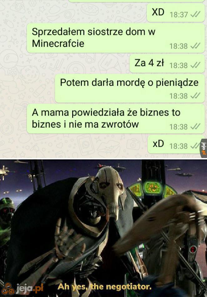Negocjacje były krótkie