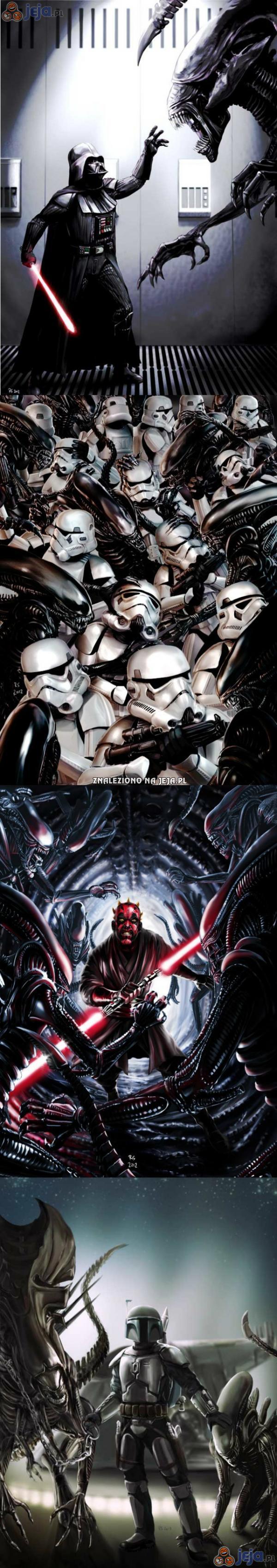 Star Wars vs Obcy