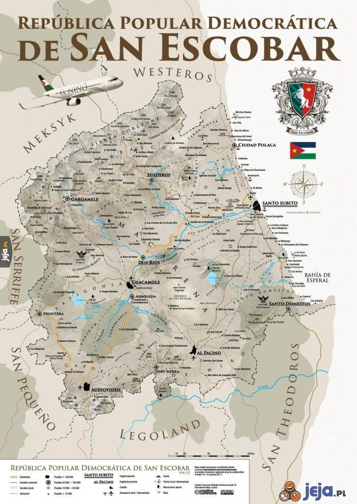 Mapa San Escobar