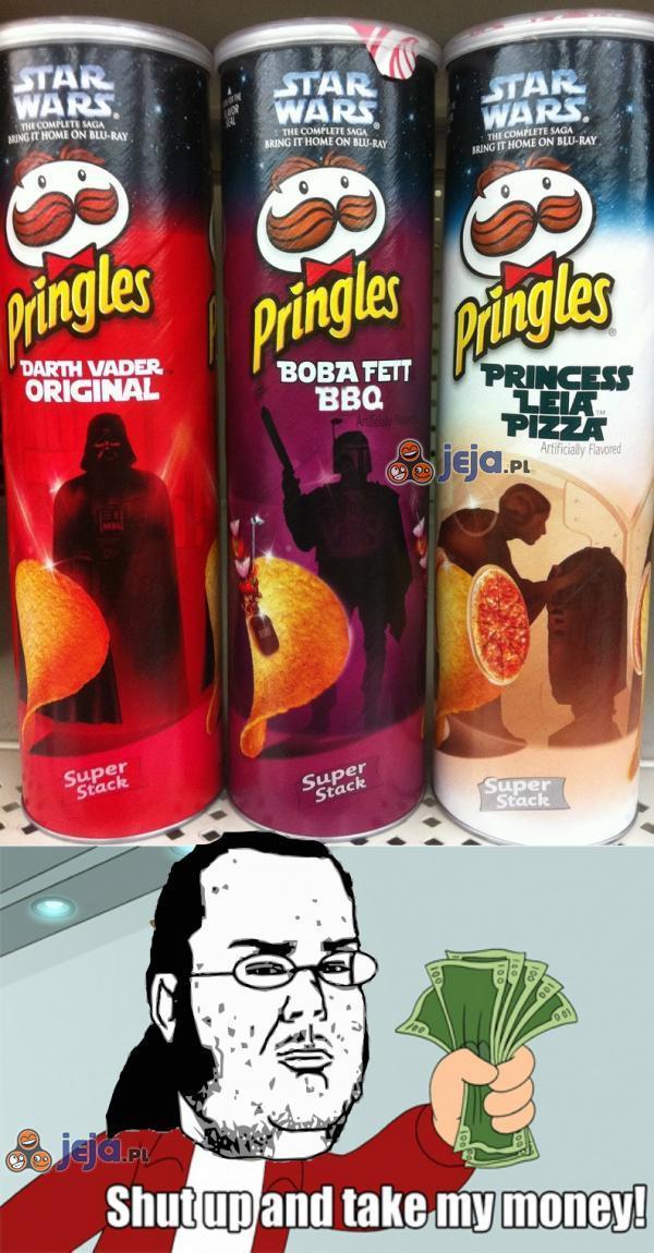 Pringles w wersji Star Wars