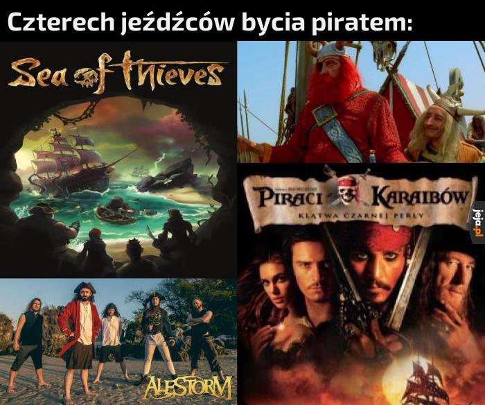 Kto nie lubi piratów?