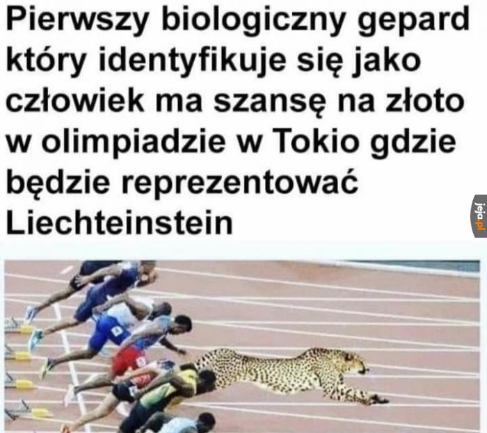 Dobrze, że nie na dopingu