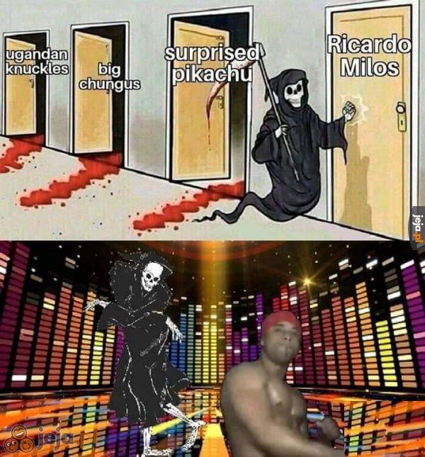 Przerwa w zabijaniu na imprezę u Ricardo
