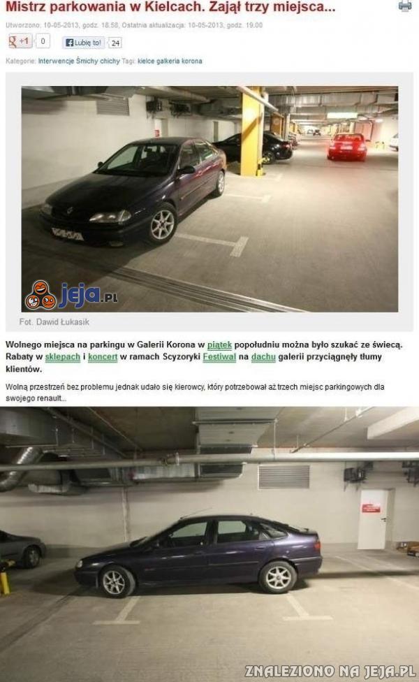 Parkingowy burak