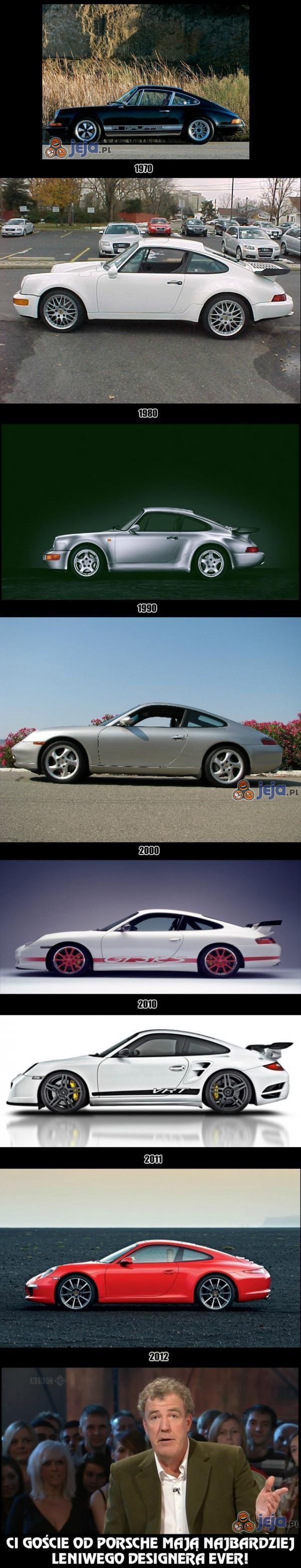 Porsche na przestrzeni lat