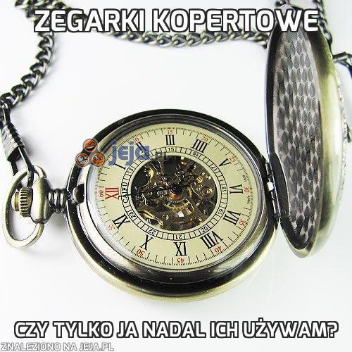 Zegarki kopertowe