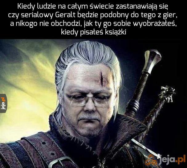 Biedny Sapkowski