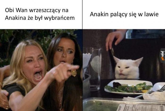 Byłeś mi bratem, Anakin!