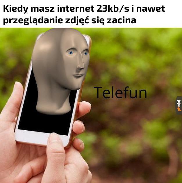 Nie mogę wczytać mema