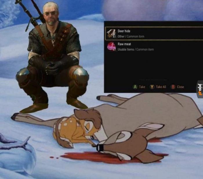 Geralt, ty zwyrolu