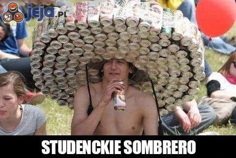 Studenckie sombrero