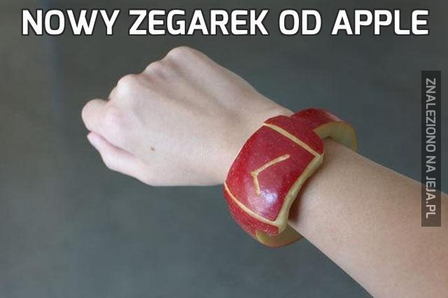 Nowy zegarek od Apple