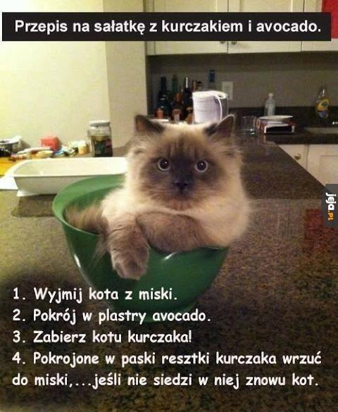 Przepis na sałatkę