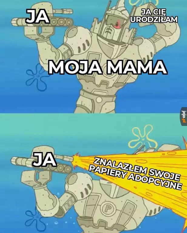 Masz mi coś do powiedzenia, mamusiu?