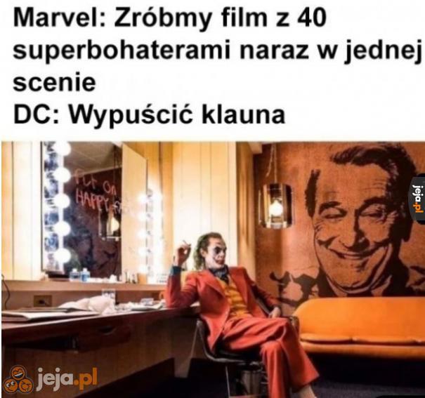 DC ma swój sposób na sukces