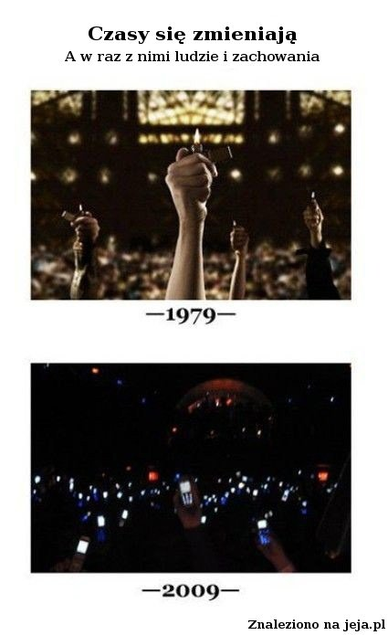 Czasy się zmieniają