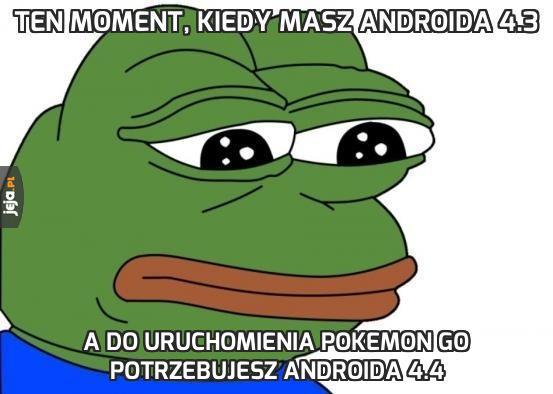 Ten moment, kiedy masz Androida 4.3