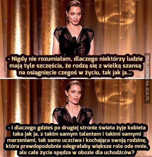 Angelina Jolie - klasa sama w sobie
