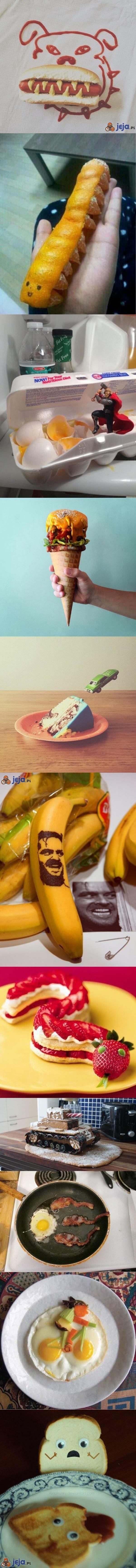 Zabawy jedzeniem