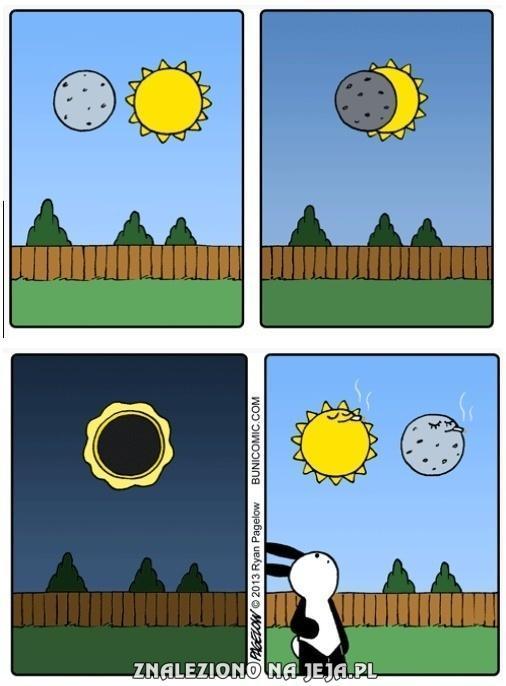 Jak to jest z zaćmieniem słońca?