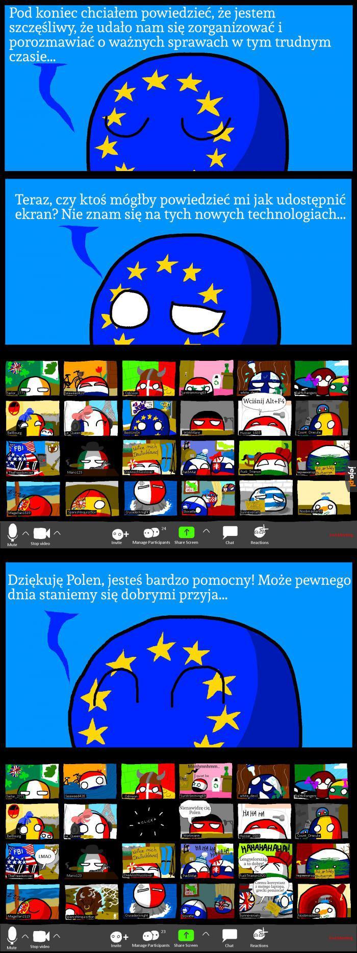 Polska śmieszek