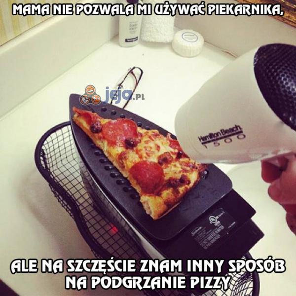 Nie ma nic silniejszego niż pragnienie pizzy
