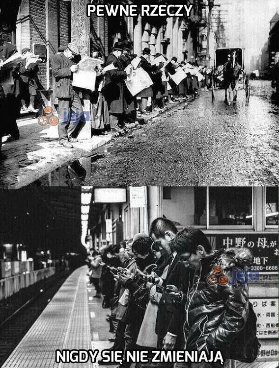 Pewne rzeczy nigdy się nie zmieniają