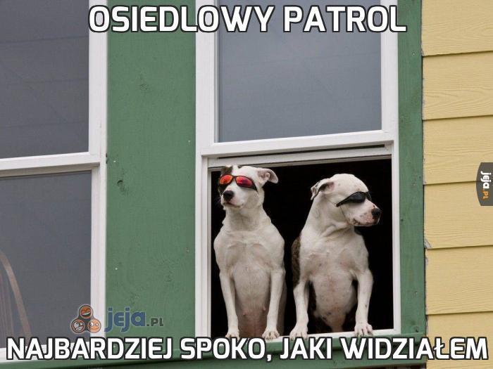 Osiedlowy patrol