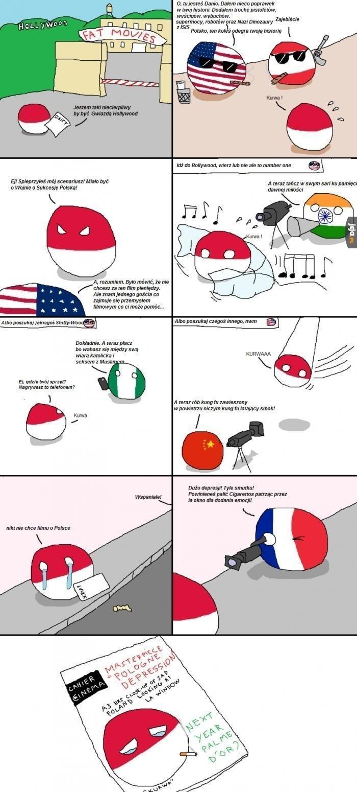 Polska nie może w film