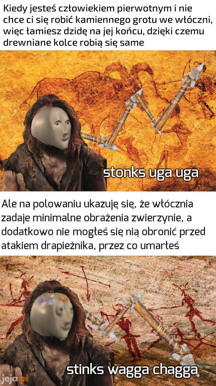 Prehistoryczne śmieszki