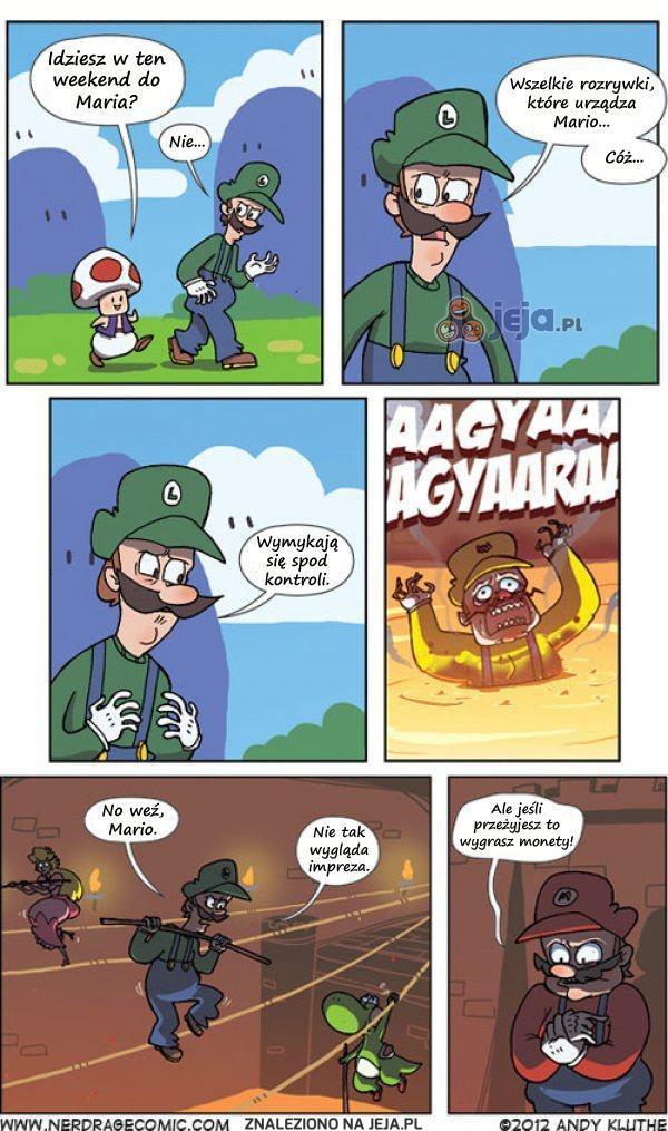 Nikt nie robi takich imprez jak Mario