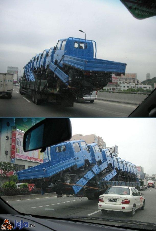 Mistrzowie załadunku - ciężarówki