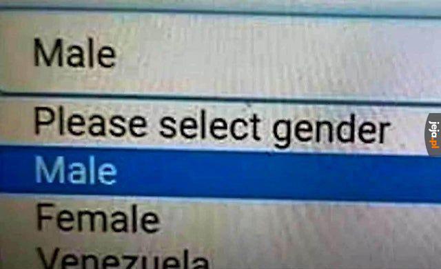 Dobry wybór płci