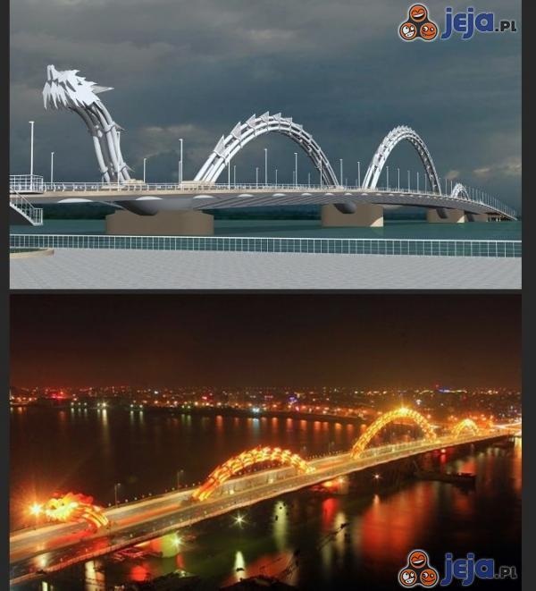 Smoczy most w Wietnamie