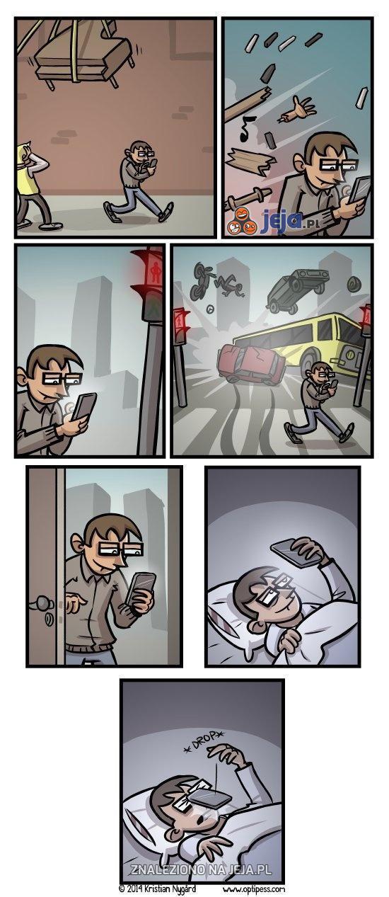 Telefon vs użytkownik