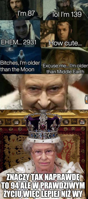 Boże, błogosław Królową