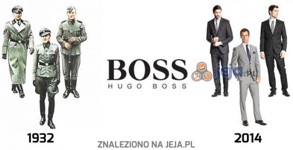 Hugo Boss kiedyś i dziś