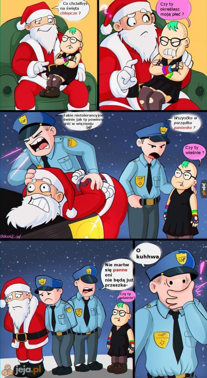 Nawet Mikołaj jest niepoprawny