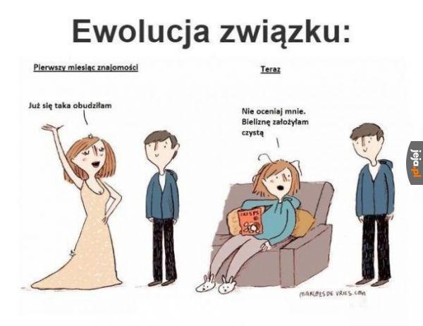Ewolucja związku