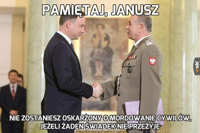 Pamiętaj, Janusz