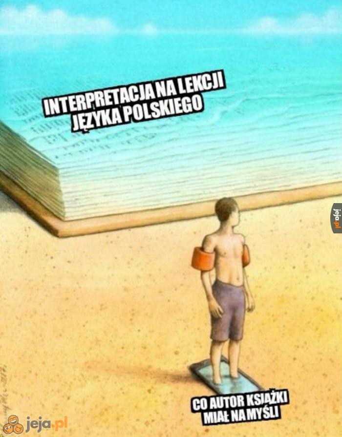 Interpretacja polonistki