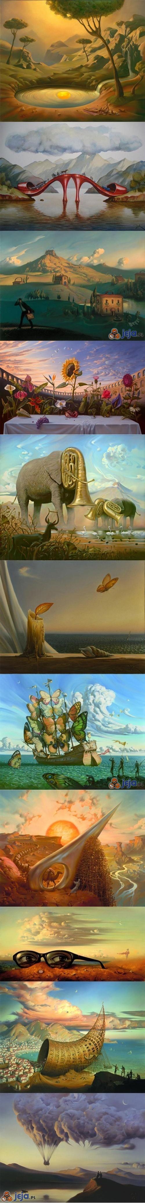 Surrealistyczne malarstwo