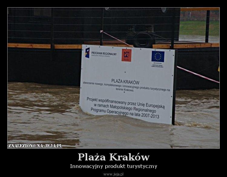 Plaża Kraków